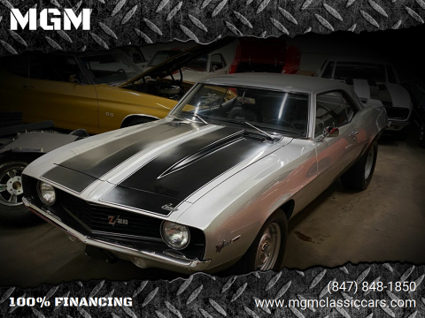 1969 Chevrolet Camaro for sale at MGM in Addison IL