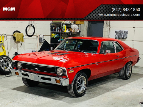 1972 Chevrolet Nova for sale at MGM in Addison IL