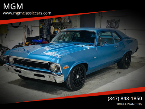 1970 Chevrolet Nova for sale at MGM in Addison IL