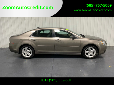 2012 Chevrolet Malibu for sale at ZoomAutoCredit.com in Elba NY