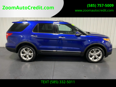 2015 Ford Explorer for sale at ZoomAutoCredit.com in Elba NY