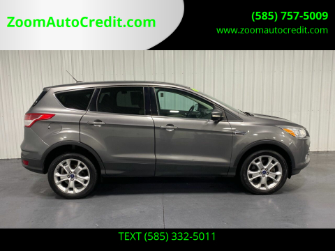 2013 Ford Escape for sale at ZoomAutoCredit.com in Elba NY