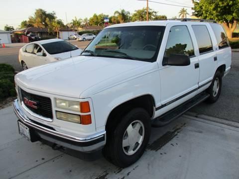 1999 GMC Yukon for sale in Escondido, CA
