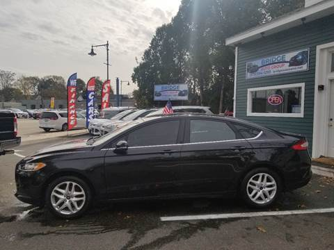 2014 Ford Fusion for sale in Salem, MA