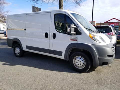 2017 RAM ProMaster Cargo for sale at Bridge Auto Group Corp in Salem MA