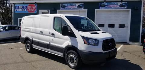 2015 Ford Transit Cargo for sale at Bridge Auto Group Corp in Salem MA
