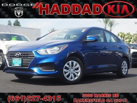 2018 Hyundai Accent for sale in Bakersfield, CA