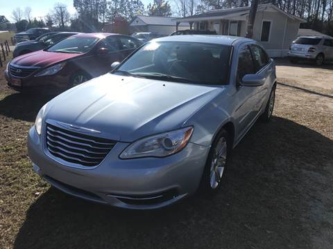 2013 Chrysler 200 Touring for sale at Southtown Auto Sales in Whiteville NC