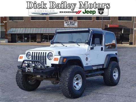 1999 Jeep Wrangler for sale in Okmulgee, OK