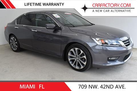 2014 Honda Accord for sale in Miami, FL