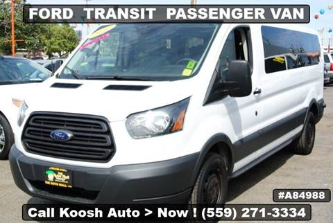 Ford Transit Passenger Van >> 2016 Ford Transit Passenger For Sale In Fresno Ca