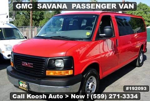 2016 GMC Savana Passenger for sale in Fresno, CA