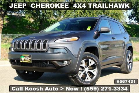 2018 Jeep Cherokee for sale in Fresno, CA