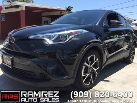 2018 Toyota C-HR for sale in Bloomington, CA