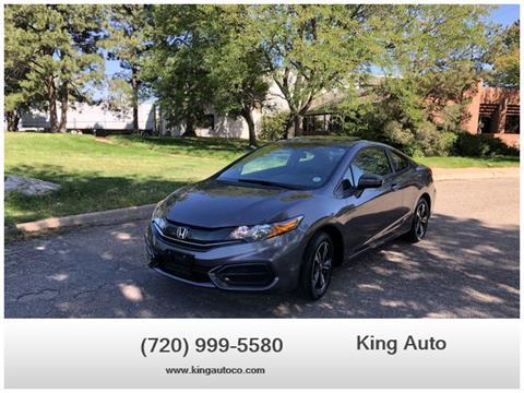 2014 Honda Civic for sale in Denver, CO