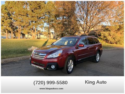 2013 Subaru Outback for sale in Denver, CO