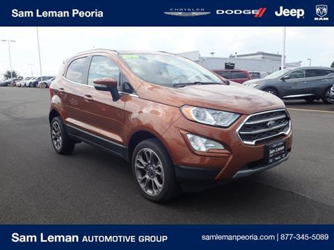 2018 Ford EcoSport for sale in Peoria, IL