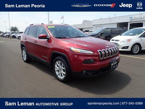 2016 Jeep Cherokee for sale in Peoria, IL