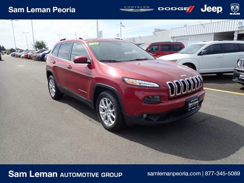 2017 Jeep Cherokee for sale in Peoria, IL