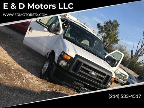 2008 Ford E-Series Cargo for sale in Grand Prairie, TX