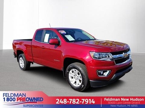 2018 Chevrolet Colorado for sale in New Hudson, MI