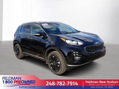 2019 Kia Sportage for sale in New Hudson, MI