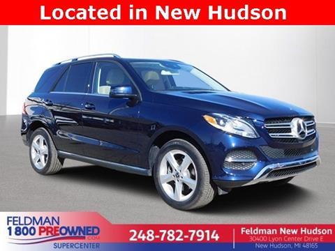 2018 Mercedes-Benz GLE for sale in New Hudson, MI