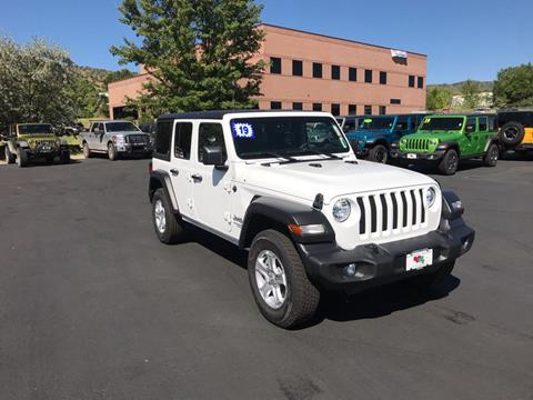 2019 Jeep Wrangler Unlimited for sale in Durango, CO