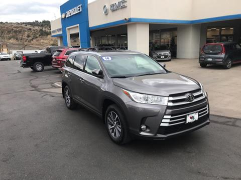 2018 Toyota Highlander for sale in Durango, CO
