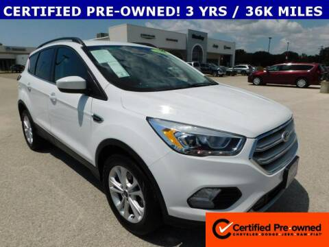 2019 Ford Escape for sale at Stanley Chrysler Dodge Jeep Ram Gatesville in Gatesville TX