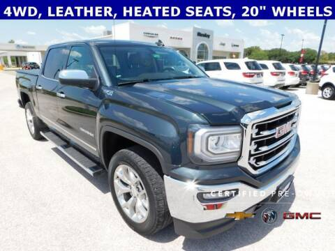 2018 GMC Sierra 1500 for sale at Stanley Chrysler Dodge Jeep Ram Gatesville in Gatesville TX