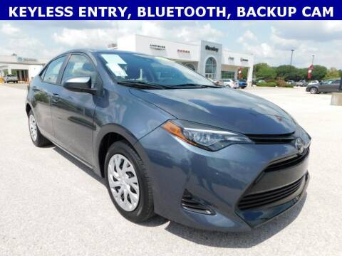 2019 Toyota Corolla for sale at Stanley Chrysler Dodge Jeep Ram Gatesville in Gatesville TX