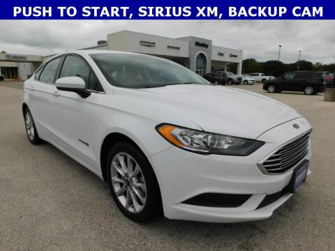 2017 Ford Fusion Hybrid for sale at Stanley Chrysler Dodge Jeep Ram Gatesville in Gatesville TX
