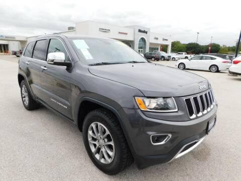 2016 Jeep Grand Cherokee for sale at Stanley Chrysler Dodge Jeep Ram Gatesville in Gatesville TX