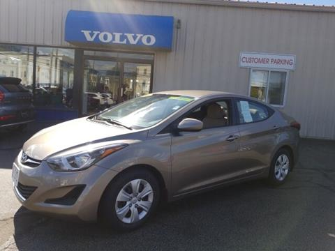 2016 Hyundai Elantra for sale in Manchester, NH