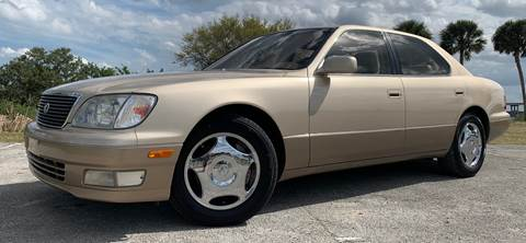 2000 Lexus LS 400 for sale at PennSpeed in New Smyrna Beach FL