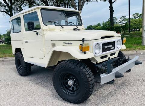1977 Toyota Land Cruiser for sale at PennSpeed in New Smyrna Beach FL