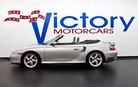 2004 Porsche 911 Turbo for sale at Victorymotorcars in Houston TX