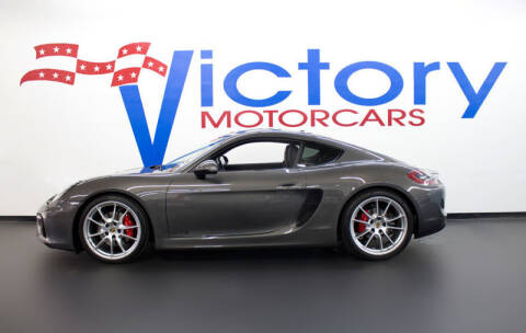2016 Porsche Cayman GTS for sale at Victorymotorcars in Houston TX