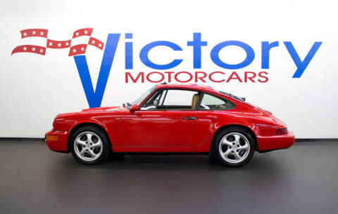 1991 Porsche 911 Carrera 2 for sale at Victorymotorcars in Houston TX