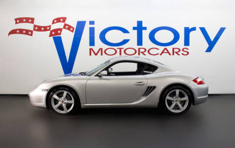 2008 Porsche Cayman for sale at Victorymotorcars in Houston TX