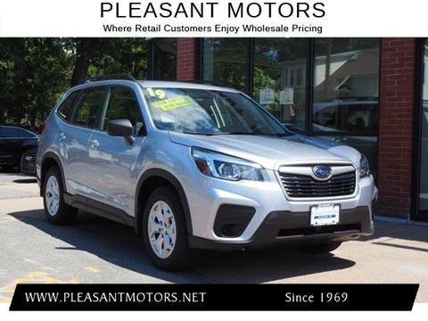 2019 Subaru Forester for sale in New Bedford, MA