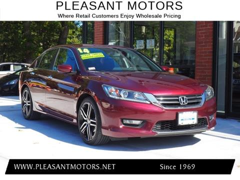 2014 Honda Accord for sale in New Bedford, MA