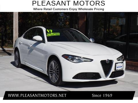 2017 Alfa Romeo Giulia for sale in New Bedford, MA