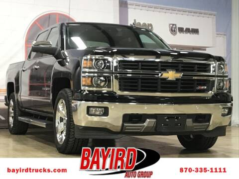 2014 Chevrolet Silverado 1500 for sale at Bayird RV Truck and Camper Center in Paragould AR