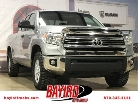 2016 Toyota Tundra SR for sale at Bayird RV Truck and Camper Center in Paragould AR