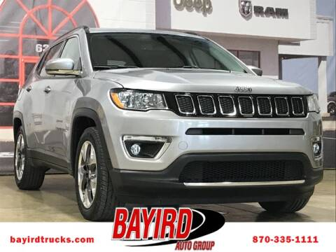 2019 Jeep Compass for sale at Bayird RV Truck and Camper Center in Paragould AR