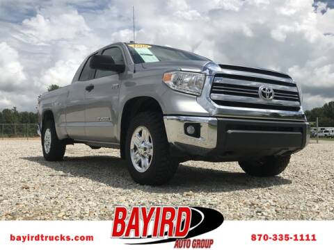 2016 Toyota Tundra for sale at Bayird RV Truck and Camper Center in Paragould AR