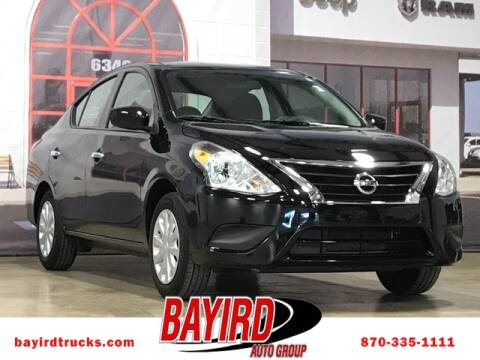 2019 Nissan Versa for sale at Bayird RV Truck and Camper Center in Paragould AR