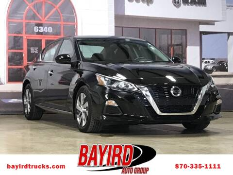 2020 Nissan Altima for sale at Bayird RV Truck and Camper Center in Paragould AR